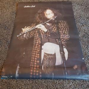 Original 1973 jethro tull poster